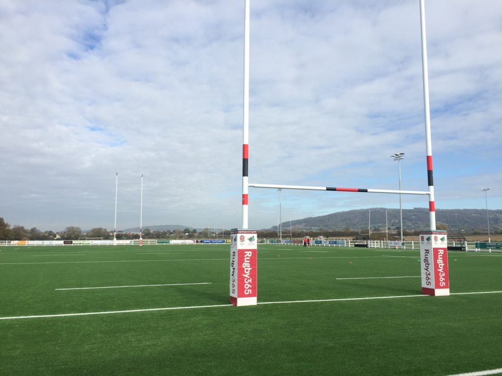 Cheltenham Rugby Club pitch