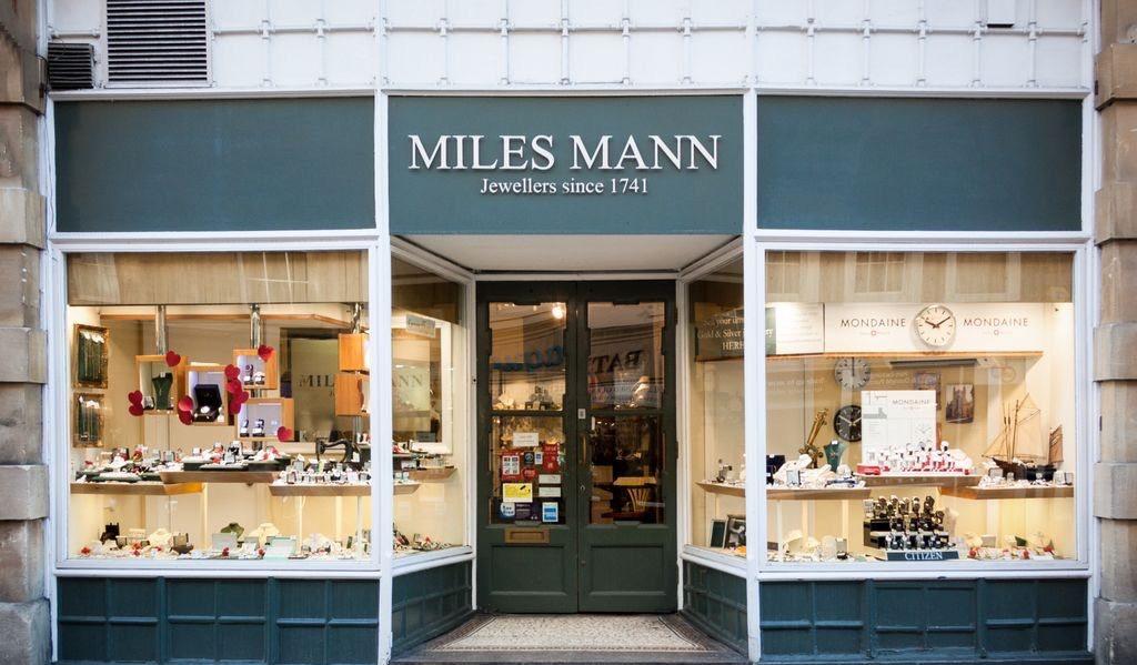 Miles Mann shopfront