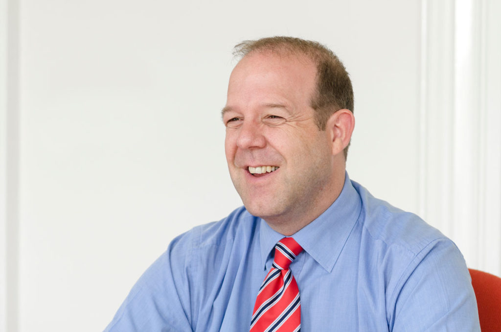 Trust lawyer, Simon Cook