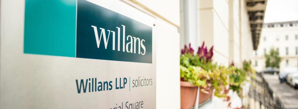 Willans' sign